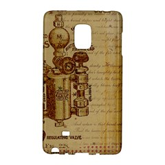 Vintage 1123731 1920 Samsung Galaxy Note Edge Hardshell Case by vintage2030