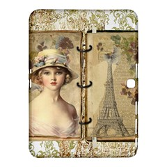 Paris 1122617 1920 Samsung Galaxy Tab 4 (10 1 ) Hardshell Case  by vintage2030