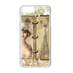 Paris 1122617 1920 Apple Iphone 7 Plus Seamless Case (white) by vintage2030