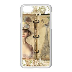 Paris 1122617 1920 Apple Iphone 8 Seamless Case (white) by vintage2030