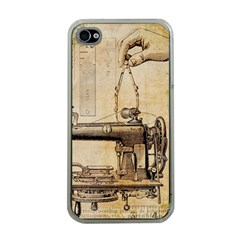 Sewing 1123718 1920 Apple Iphone 4 Case (clear) by vintage2030