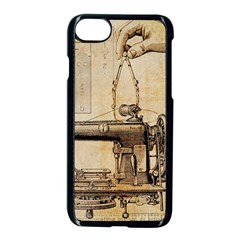 Sewing 1123718 1920 Apple Iphone 7 Seamless Case (black) by vintage2030