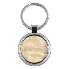 Paris 1118815 1280 Key Chains (round)  by vintage2030