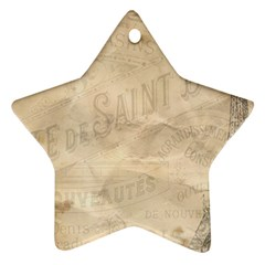Paris 1118815 1280 Star Ornament (two Sides) by vintage2030