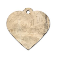 Paris 1118815 1280 Dog Tag Heart (two Sides) by vintage2030