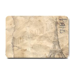 Paris 1118815 1280 Small Doormat  by vintage2030