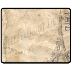 Paris 1118815 1280 Double Sided Fleece Blanket (medium)  by vintage2030