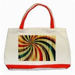Abstract 2068610 960 720 Classic Tote Bag (red) by vintage2030