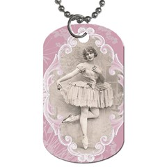 Lady 1112861 1280 Dog Tag (two Sides) by vintage2030