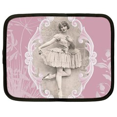 Lady 1112861 1280 Netbook Case (xl) by vintage2030