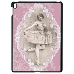 Lady 1112861 1280 Apple Ipad Pro 9 7   Black Seamless Case by vintage2030