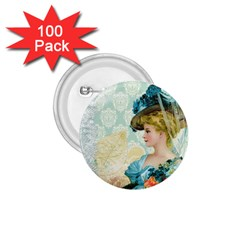 Lady 1112776 1920 1 75  Buttons (100 Pack)  by vintage2030