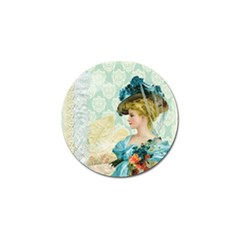 Lady 1112776 1920 Golf Ball Marker (4 Pack) by vintage2030