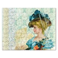 Lady 1112776 1920 Rectangular Jigsaw Puzzl by vintage2030