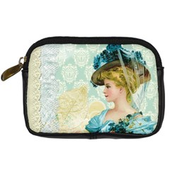 Lady 1112776 1920 Digital Camera Leather Case by vintage2030