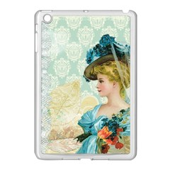 Lady 1112776 1920 Apple Ipad Mini Case (white) by vintage2030