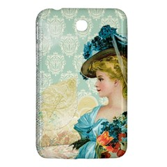 Lady 1112776 1920 Samsung Galaxy Tab 3 (7 ) P3200 Hardshell Case  by vintage2030