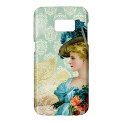 Lady 1112776 1920 Samsung Galaxy S7 Hardshell Case  by vintage2030