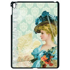 Lady 1112776 1920 Apple Ipad Pro 9 7   Black Seamless Case by vintage2030