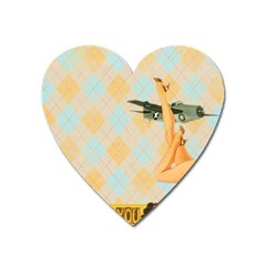 Retro 1107644 1920 Heart Magnet by vintage2030
