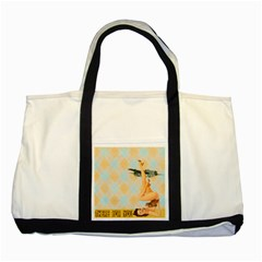 Retro 1107644 1920 Two Tone Tote Bag