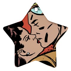 Retrocouplekissing Ornament (star) by vintage2030