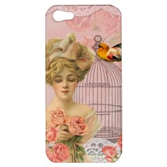 Woman 1079479 1920 Apple Iphone 5 Hardshell Case by vintage2030