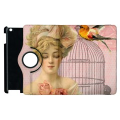 Woman 1079479 1920 Apple Ipad 2 Flip 360 Case