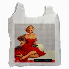 Retro 1107638 1920 Recycle Bag (two Side) by vintage2030