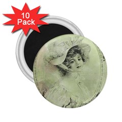 Woman 1079507 1920 2 25  Magnets (10 Pack)  by vintage2030