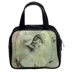 Woman 1079507 1920 Classic Handbag (two Sides) by vintage2030
