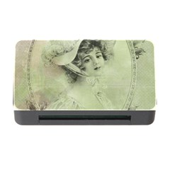 Woman 1079507 1920 Memory Card Reader With Cf by vintage2030