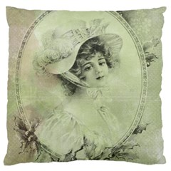 Woman 1079507 1920 Large Cushion Case (two Sides) by vintage2030