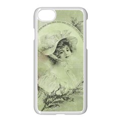 Woman 1079507 1920 Apple Iphone 8 Seamless Case (white) by vintage2030