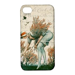 Flapper 1079515 1920 Apple Iphone 4/4s Hardshell Case With Stand by vintage2030