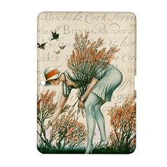Flapper 1079515 1920 Samsung Galaxy Tab 2 (10 1 ) P5100 Hardshell Case  by vintage2030