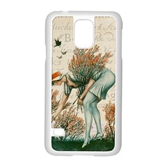 Flapper 1079515 1920 Samsung Galaxy S5 Case (white) by vintage2030