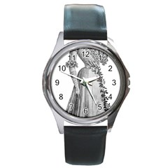 Vintage 971636 1280 Round Metal Watch