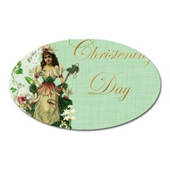 Christening 976872 1280 Oval Magnet by vintage2030