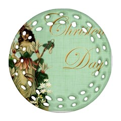 Christening 976872 1280 Ornament (round Filigree) by vintage2030