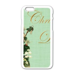 Christening 976872 1280 Apple Iphone 6/6s White Enamel Case by vintage2030