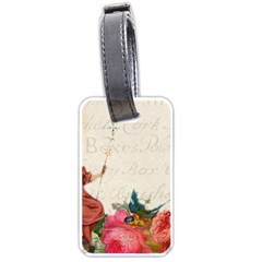 Girl 976108 1280 Luggage Tags (one Side)