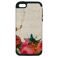 Girl 976108 1280 Apple Iphone 5 Hardshell Case (pc+silicone) by vintage2030