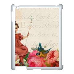 Girl 976108 1280 Apple Ipad 3/4 Case (white) by vintage2030