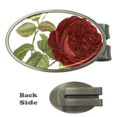 Rose 1077964 1280 Money Clips (oval)  by vintage2030