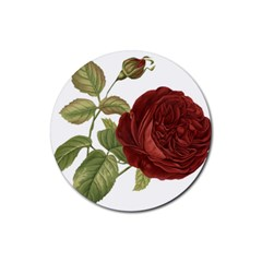 Rose 1077964 1280 Rubber Round Coaster (4 Pack)  by vintage2030