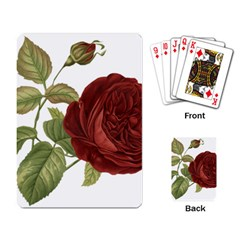 Rose 1077964 1280 Playing Cards Single Design by vintage2030
