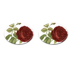 Rose 1077964 1280 Cufflinks (oval) by vintage2030