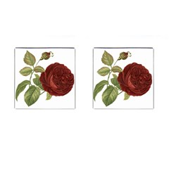 Rose 1077964 1280 Cufflinks (square) by vintage2030