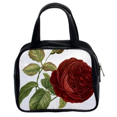 Rose 1077964 1280 Classic Handbag (two Sides) by vintage2030